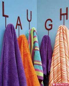 towel hangers