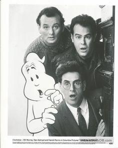 Ghostbusters II Bill Murray, Dan Aykroyd and Harold Ramis Ghostbusters Game, Extreme Ghostbusters, 1984 Movie, Movie Tv, 1980's Movies, Horror, Ghost Busters, Fantasy Movies, Cultura Pop