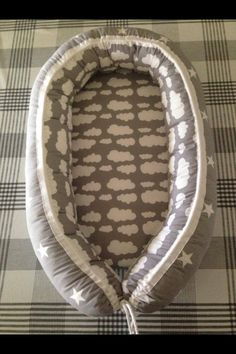 DIY baby nest-This would be a cool baby shower gift for those who are crafty.
