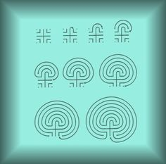 How to create a labyrinth...would love to have one in the garden