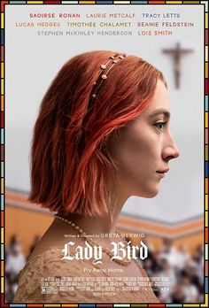 'Lady Bird' Poster by ebbahct Iconic Movie Posters, Movie Poster Art, Iconic Movies, Good Movies, Oscar Movies, Best Posters, Art Movies, Watch Movies, Bird Poster