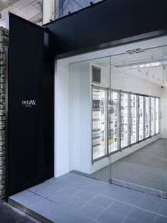 retaW store Harajuku  / The Archetype  http://www.archdaily.com/869846/retaw-store-harajuku-the-archetype