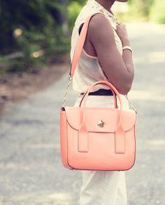 coral bag #kate spade love! durupaper.com #kate_spade