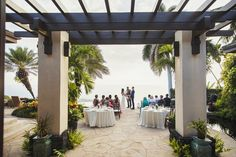"""Parveen & Trevor tied the knot in an intimate ceremony on the Big Island of Hawaii.  The sweet couple said their """"I Do's""""  at the breathtaking Hale Wailele.  Mahalo to Patty Flax of WOW for planning such a beautiful event and to Fletch Photography for capturing it! Congratulations to the wonderful couple and mahalo for allowing White Orchid Wedding to be a part of your special day!"""