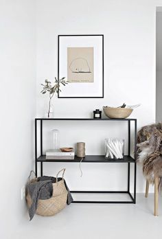 Minimal Interior Design Inspiration # 41 - HOME - Haus Dekoration Scandinavian Interior Design, Home Interior Design, Interior Decorating, Decorating Ideas, Scandinavian Living, Room Interior, Decorating Websites, Hallway Decorating, Living Room Ideas