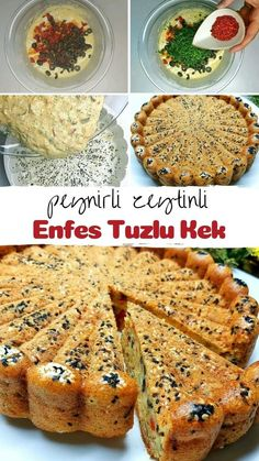 Turkish Recipes, Dessert Recipes, Desserts, Quiche, Banana Bread, French Toast, Bakery, Muffin, Food And Drink