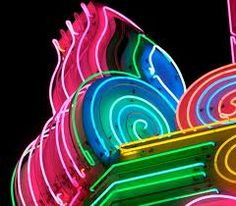 Neon flourish  #lights #colors