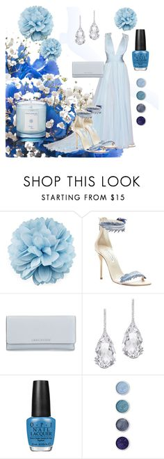 """Blue Carpet"" by klm62 ❤ liked on Polyvore featuring Gucci, Oscar de la Renta, MICHAEL Michael Kors, Plukka, OPI, Terre Mère and Shay & Blue"