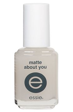 Make any of your nail polishes matte!