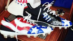 No fine 'thus far' from NFL for patriotic 9/11 shoes, Colts punter Pat McAfee says | Fox 59