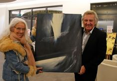 Vernissage Karl Seidelmann - Foto: Alfred Pany Jackson, Painting, Painting Art, Paintings, Painted Canvas, Jackson Family, Drawings