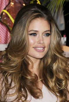 Doutzen Kroes  I WANT hair like this!!!!!!!