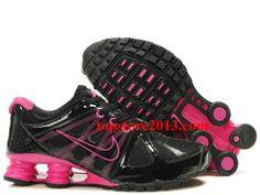 new product 61b36 d3058 Hot Sale Nike Shox Agent Women Black Pink Running Shoes Pink Nikes, Nike  Women,