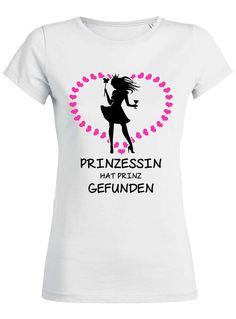 Prinzessin hat Prinz gefunden - JGA T-Shirt zum Junggesellinnenabschied