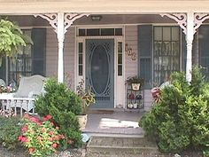 Victorian front porch