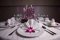 Las orquídeas también son ideales para usarse como decoración y centro de mesa