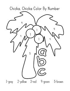 Chicka Chicka Boom Boom Coloring Page Luxury Chicka Chicka Boom Boom Coloring Pages Coloring Home Preschool Curriculum, Preschool Lessons, Preschool Worksheets, Kindergarten Activities, Toddler Preschool, Book Activities, Homeschooling, Preschool Books, Preschool Classroom