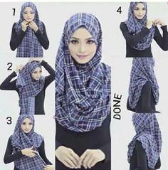 Tutorial hijab daily