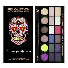 Makeup Revolution - Salvation Palette Dia De Los Muertos ($9.40)