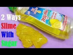 Dish Soap and Colgate Toothpaste Slime!! How to Make Slime Soap Salt and Toothpaste, NO GLUE !! - YouTube