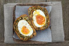 Puy Lentil Scotch Eggs