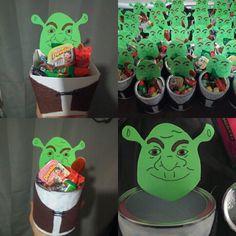Shrek party favors