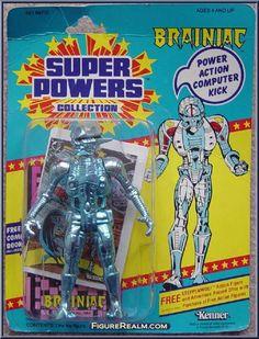 Kenner Super Powers Series 1 Brainiac Figure 1984