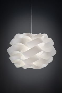 #LineaZero Cloud #lamp, design by #EneaFerrari. Fluffy as clouds kissed by the rays of the sun, the soft and enveloping lines of the #Cloud collection create elegant and refined shapes of great evocative effect. #SmartLightDesign #fluffy #pendant