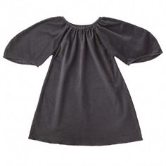 almendra dress (charcoal grey)