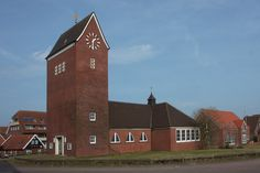 Baltrum, Germany, protestant Lutheran church