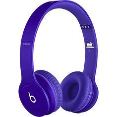 a) purple b) headpohnes yeee