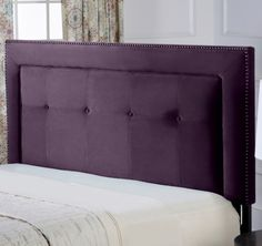 Purple Punch: Beds and Headboards