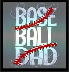 Baseball Dad SVG Ball Team Love Life Mom by SHAREnShareALIKE