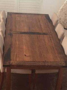 Coco Republic Hardwood Dining Table - Excellent Condition | Dining Tables…