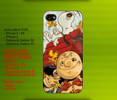 Charlie Brown Snoopy case for iPhone 4/4S iPhone 5 Galaxy S2/S3 #iPhonecase #iPhoneCover #3DiPhonecase #3Dcase #S4 #s5 #S5case