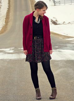 Wearing #woolovers in my latest outfit post - Country Girl, City Fashion.