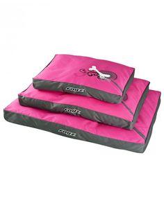 Rogz Bed - Pink Bone Flat Pod | apetslife.co.za