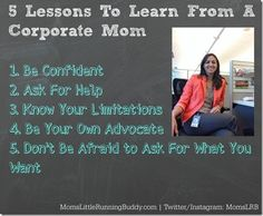 5 lessons from a corporate mom