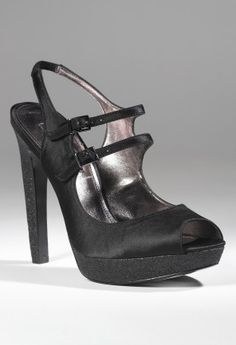Shoes - High Heel Pump with 2 Instep Straps from Camille La Vie and Group USA