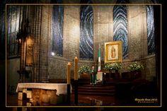 Altar mayor del   Santuario de Guadalupe en Zamora, Michoacan, Mexico  Fotografia  de Ricardo Cruz