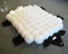 Home Depot Carpet Runners Vinyl Diy Carpet, Rugs On Carpet, Modern Carpet, Diy Tapis, Home Depot Carpet, Sheep Crafts, Wool Dolls, Carpet Squares, Cheap Carpet Runners