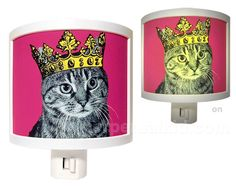 Cats Rule night light. This would look swell in your house.  :)  @Brandon Smith