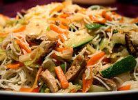 Massa Japonesa com Legumes e Tofu