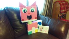 Abbie's Uni-Kitty Valentines box!