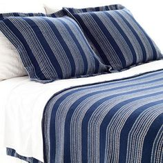 Pine Cone Hill.  Founded in 1994 by Annie Selke on her dining room table, Pine Cone Hill is an important wholesaler of a distinctive line that includes quilts, sheeting, rugs, blankets, table linens, and other decorative bedding. http://www.greatrep.com/VendorProfile.aspx?id=4428