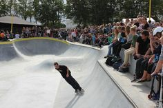 Interesting idea - planners in Denmark designed a urban drainage system that is skate park, if they get bad weather, they can use it to save the town from flooding. A Day In Life, Skate Park, Climate Change, Denmark, The Neighbourhood, Urban, Planners, Weather, Ideas