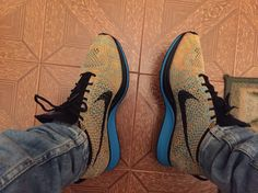 c1742ab20342f Nike Flyknit Racer Bright Citrus