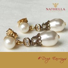#Nathella #KnowYourJewellery #DropEarring  Regal and feminine, drop earrings dangle from the ear. Created from metal, these earrings may feature diamonds, gemstones, or a combination of metals to achieve a unique look. Drop earrings can range from an inch long to nearly shoulder length, so you're sure to find a pair that will look smashing with any outfit.  Visit Nathella Jewellery outlets and check out the latest range of #DropEarring collection.