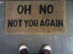 Tee hee @Erin Lange-Vandello I think this could really work in front of our treatment rooms :-)