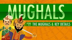 The Mughal Empire and Historical Reputation: Crash Course World History Video for - Grade Crash Course World History, History Of India, Ancient History, Mughal Empire, Story Of The World, History Class, Ancient Civilizations, Social Studies, History Posters
